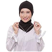 ❤️ SAFIYA Haartuch Hijab Kopftuch Halstuch f/ür Damen I Kopfbedeckung 75 x 180 cm I Islamische Muslim Gesichtsschleier Fuchsie Pashmina Turban I Chiffon Schal