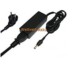 PowerSmart - Cargador con fuente de alimentación para portátiles Toshiba NB250, NB250-107, NB250-108, NB250-10G, NB300, NB300-10N, NB510, NB510-10D, NB510-10R, NB510-119, NB510-11E, NB510-11G, NB510-11H, NB510-11J, NB525 y NB525-01S, 2,36 A, 19 V
