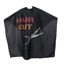 Efalock Professional Hair Cut Wasch- und Schneideumhang, 1er Pack, (1x 1 Stück)