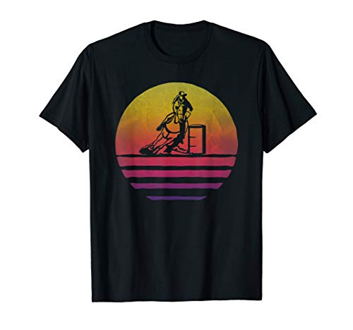 Vintage Sunset Old School Funny Gift T-Shirt ()