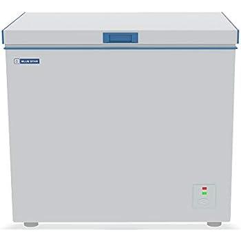 Blue Star CHF200 Single Door Deep Freezer (188 Ltrs, White)