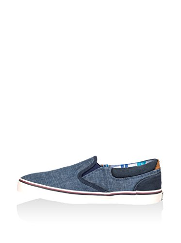 Wrangler  Legend Slip On, Baskets pour homme - - DENIM Blu