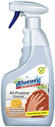 Blueoxy All-Purpose Cleaner (Citrus Infused) – Professional Concentrated Formula -500ml Spray Bottle | Removes