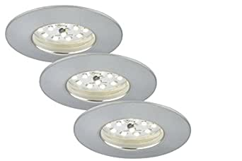 briloner leuchten 7231 039 led einbauleuchte dimmbar einbaustrahler led strahler spots. Black Bedroom Furniture Sets. Home Design Ideas