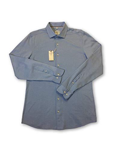 Preisvergleich Produktbild Olymp Level 5 Body fit smart Business Shirt in Blue Scale Pattern - M