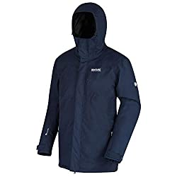 Regatta Herren Volter Shield Battery Heated Waterproof & Breathable Thermo-Guard Insulated Winter Jacket with Electric Heating System wasserdichte, isolierte Jacke, Navy, XXXL