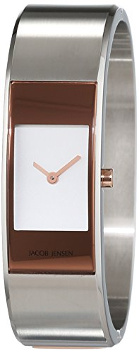 Jacob Jensen Women's Quartz Watch JACOB JENSEN ECLIPSE ITEM NO. 455 JACOB JENSEN ECLIPSE ITEM NO. 455 with Metal Strap
