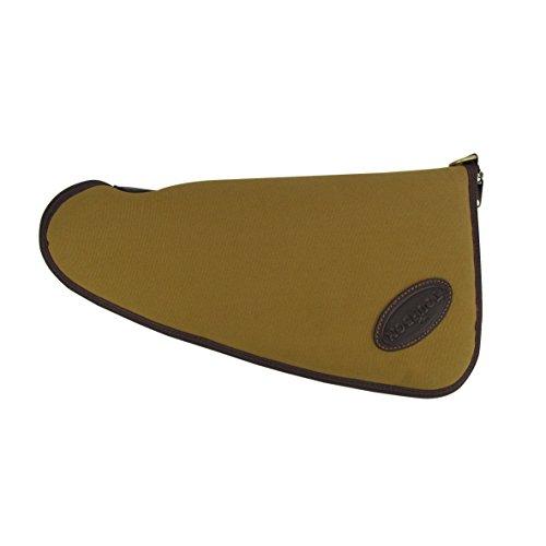 tourbon Toile et en cuir véritable Pochette Étui de transport rembourré souple 40,6cm Pistolet Pistolet