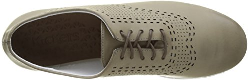 Kickers Ladies Becki Brogue Gray (grigio)