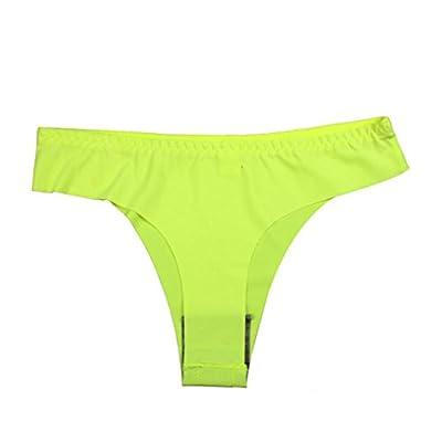 Damen Unsichtbar Unterwäsche Thong, Zarupeng Reizwäsche Einfarbig Nahtlose Crotch Briefs G-String Underhose Slips Lingerie