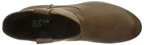 SPM Brest, Stivali donna marrone (Braun (DK CUOIO 008))