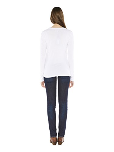 Colorado Denim Damen Langarmshirt Drea Weiß (WHITE 1000)