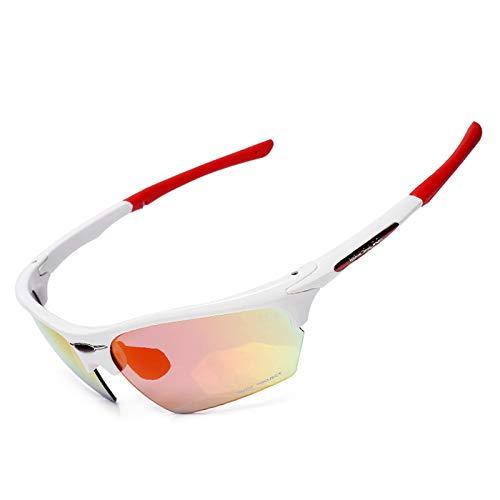 Sonnenbrille Für Brillenträger Fahrradbrillen Im Freien Sportbrillen Können Einzelne Wanderfischenbrillen Ausgestellt Werden White Red Damen Herren