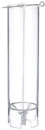 Rayher 3117000 Kerzengießform rund, Glockenspitz, Höhe 20 cm, 6 cm ø, Giessform für Wachs, Kreativ-Beton, Wachsgießform, Betongießform