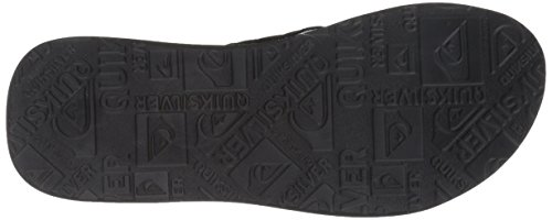 Quiksilver - Sandales de Base pour hommes Black/Grey/Black