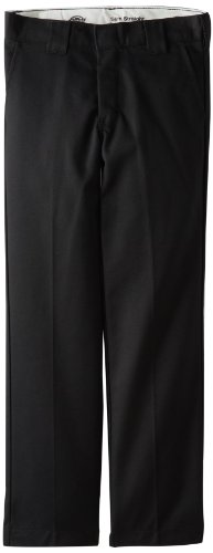 dickies-qp873-boys-slim-straight-pant-size-10-color-black