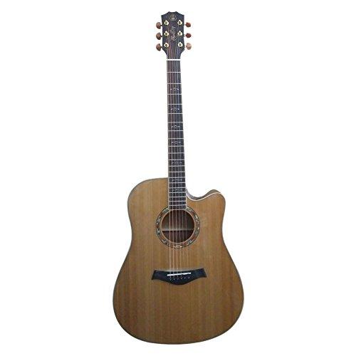 HONSING® 41 pollici chitarra acustica / chipping barile noce pino lato inferiore HS-4106CS-NT (colore di legno) - Fender Noci