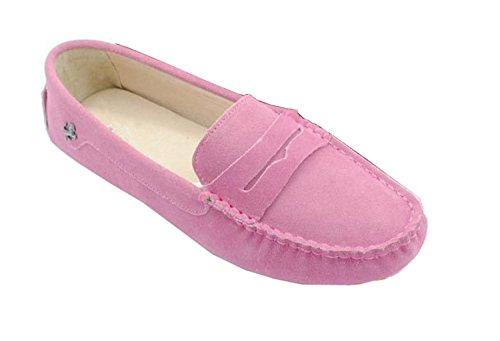 Minitoo , Bout fermé femme Pink-Suede