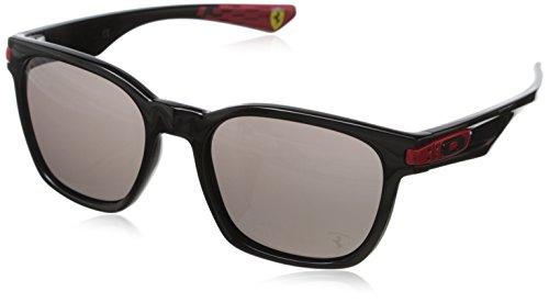 Oakley Unisex - Erwachsene Sonnenbrille Garage Rock, schwarz (Polished Black W/Warm Grey), Einheitsgröße
