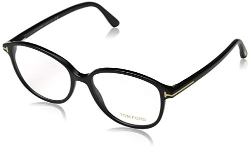 Tom Ford Damen Ft5390 Brillengestelle, Schwarz (NERO LUCIDO), 51