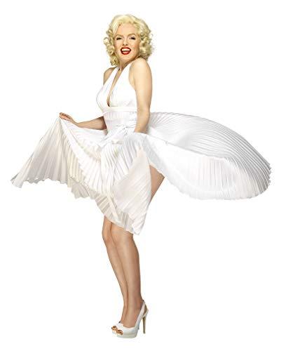Horror-Shop Lizensiertes Marilyn Monroe Kostüm
