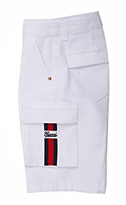 GUCCI Boys Jeans shorts white 281271-9098