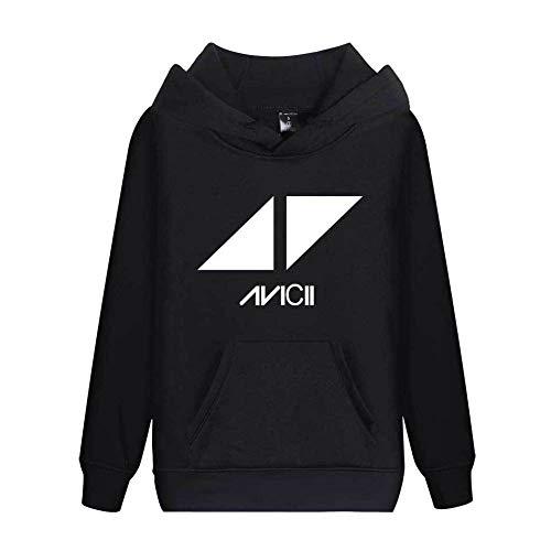 DJ Avicii Plus - Velvet Hoodie - Producteur de Musique Unisexe 6 Couleurs