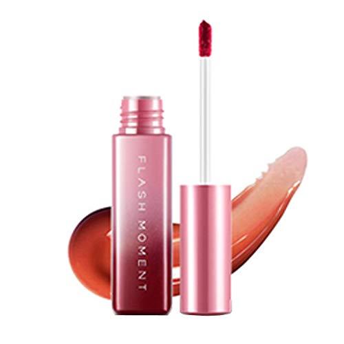 OVERMAL Lippenstift, Lipgloss, Matte Liquid Lipstick, Lippe Gloss, Flashmoment Mirror Sexy Liquid...