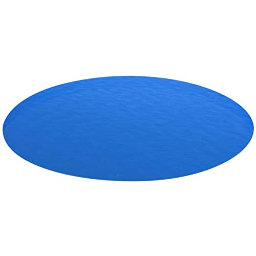 Tuduo Abdeckung für Schwimmbecken, rund, aus PP, Blau, 488 cm, Jacuzzi und SPA
