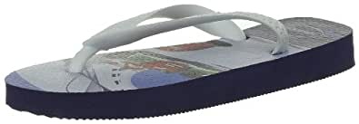 Havaianas Boys' Cars Flip Flops Navy Blue, 7 Child UK (23/24 Brazilian) (25/26 EU)