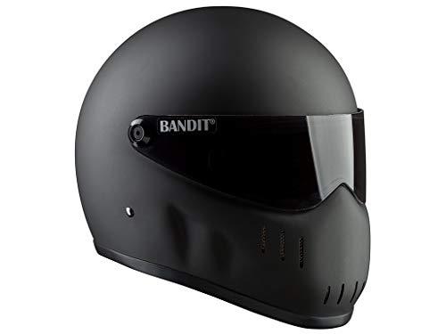 Bandit Helmets Motorradhelm XXR für Streetfighter, Größe:4XL(66/67);Farbe:mattschwarz (Hjc Helm Street Bike)