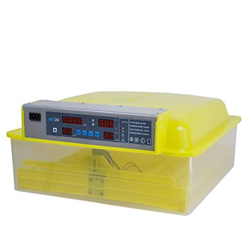 Inkubator Brutmaschine EW-48 mit Zeitschaltuhr, automatische Wendefunktion, Temperaturregler und Temperaturalarm - 4