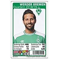 Werder Bremen Quartett 2018/2019