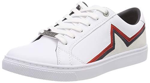 Tommy Hilfiger Damen Star Essential Sneaker, Weiß (RWB 020), 38 EU