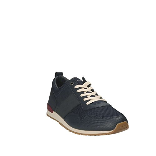 Tommy Hilfiger Sneaker Uomo FM0FM01477 Iconic Mesh Mix Runner Midnight