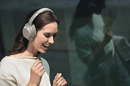 Sony WH-1000XM3 Bluetooth Noise Cancelling Kopfhörer (30h Akkulaufzeit, Touch Sensor, Headphones Connect App, Schnellladefunktion) silber - 11