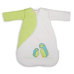 Bordado de PurFlo SleepSac 2,5tog (búho verde, 3–9meses)–Saco de dormir para bebé
