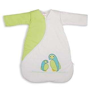 Saco de dormir para bebé Sleepsac, bordado, con estampado de búhos, espesor 1.0 Tog, talla de 3 a 9 meses, de la marca PurFlo