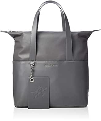 db108933f562 Armani Exchange femmes shopping tote bag 942478 8a229 uni gris ...