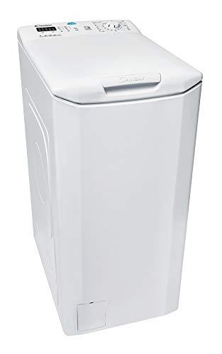 Candy CST 372L-S Lavatrice Carica dell'alto, 7 kg, 1200 rpm, Bianco, Classe energetica A+++