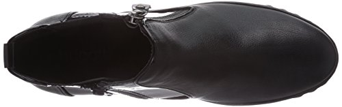 Bugatti J6935pr5g9, Bottes Chelsea courtes, doublure froide femme Noir - Noir