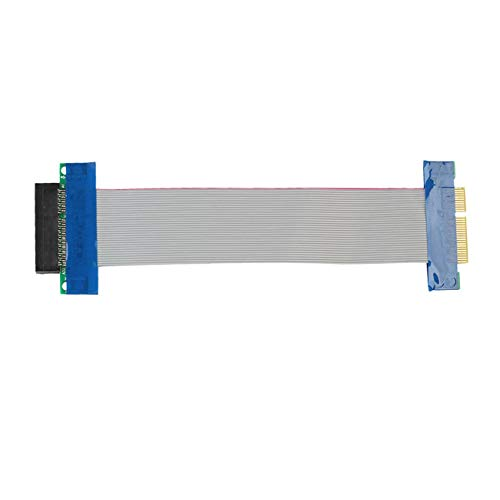 Fannty Stecker-Buchse PCI-E 4X Riser-Karte Extender-Kabel-Adapter-Konverter-Band-Draht -