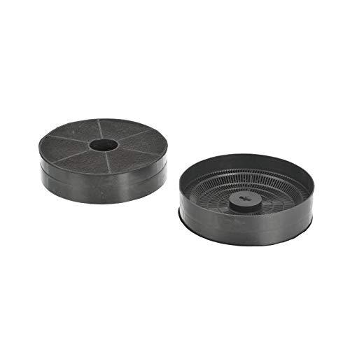 FC80 - Aktivkohlefilter Kohlefilter Dunstabzugshaube - passend für Refsta Hauben K61 - Galvamet - Bosch Siemens Neff 00602799 - Ø 170 mm. x 43 mm.