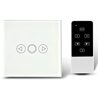 Dimmer EU Standard Crystal Touch Glas und Fernbedienung Licht Dimmer Schalter Touchscreen Dimmer Schalter Smart Switch