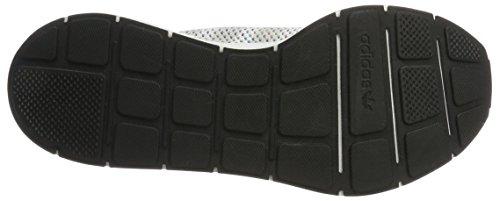 adidas Unisex-Erwachsene Swift Run Primeknit Sneaker Weiß (Footwear White/Off White/Core Black)