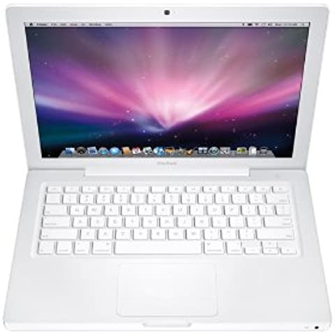 Apple MacBook (white) - Ordenador portátil (2.4 GHz, Intel Core 2 Duo, 3 MB, 2 GB, DDR2-SDRAM, 2 x 1