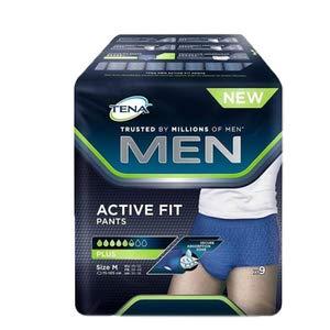 Tena Men Active Fit Pants Plus Slip saugfähig Gr. M (46–52) 9Stück