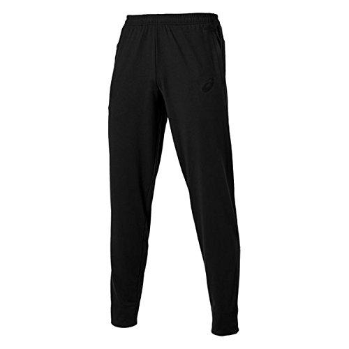 Asics Herren Knit Pants Sporthose, Performance Black Solid, L, 122829 (Knit Pants Solid)