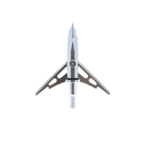 Hellbow Puntas de Flecha de Caza 100g 2' DE Corte y Punta penetrante (1 Unidad)