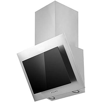 respekta dunstabzugshaube schr ghaube kopffrei edelstahl glas schwarz 60 cm led. Black Bedroom Furniture Sets. Home Design Ideas